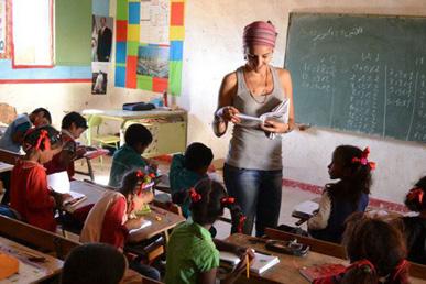 María Ortega Estepa. Campamento Refugiados Sahara Occidental