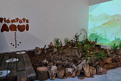 María Ortega Estepa. Instalación interactiva Plántate