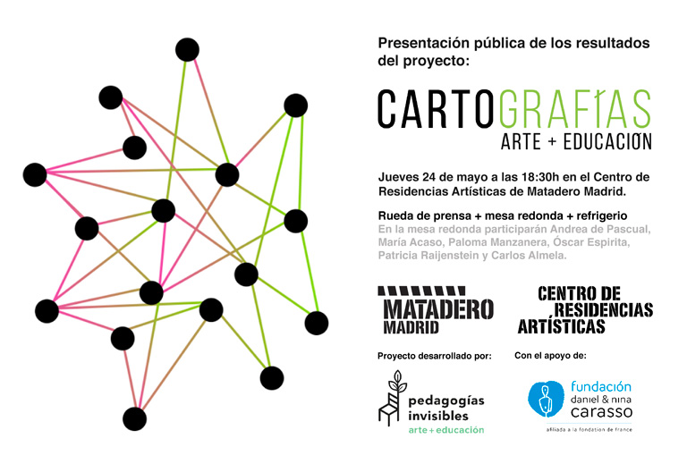 María Ortega Estepa. Cartografías arte + educación