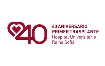logo 40 aniversario primer transplante HURS