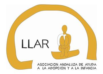 Logo LLAR. Asociación Andaluza de Ayuda a la Adopción y la Infancia
