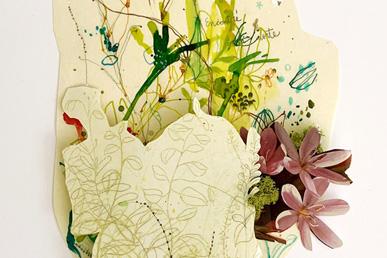 María Ortega Estepa. Collage