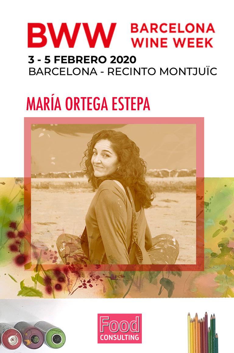BWW Barcelona Wine Week 2020. María Ortega Estepa.