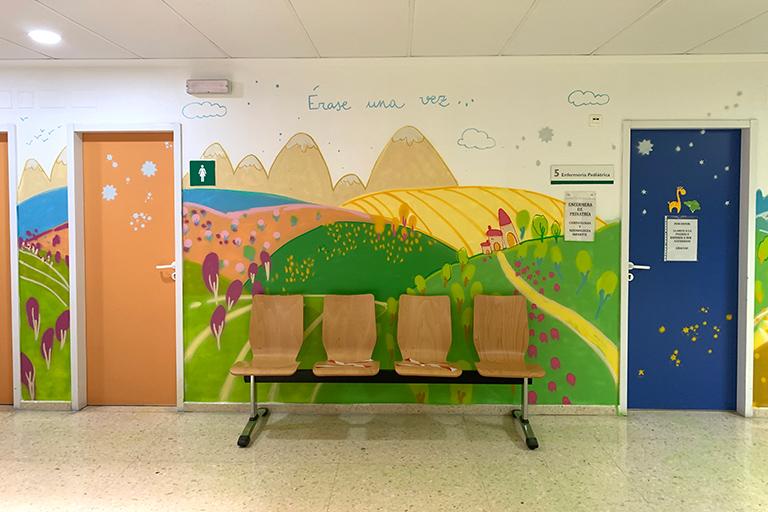 Hospital de Mérida - Consultas externas Pediatría. María Ortega Estepa