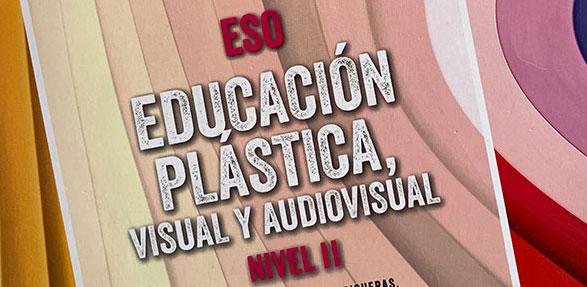 ANAYA. María Ortega Estepa en el libro Educación plástica