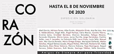 Expo CORAZÓN. Fundación Valentín de Madariaga. María Ortega Estepa.